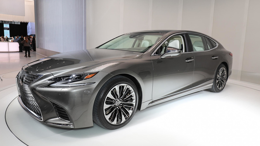 2018 Lexus LS brings new V6 biturbo to the world
