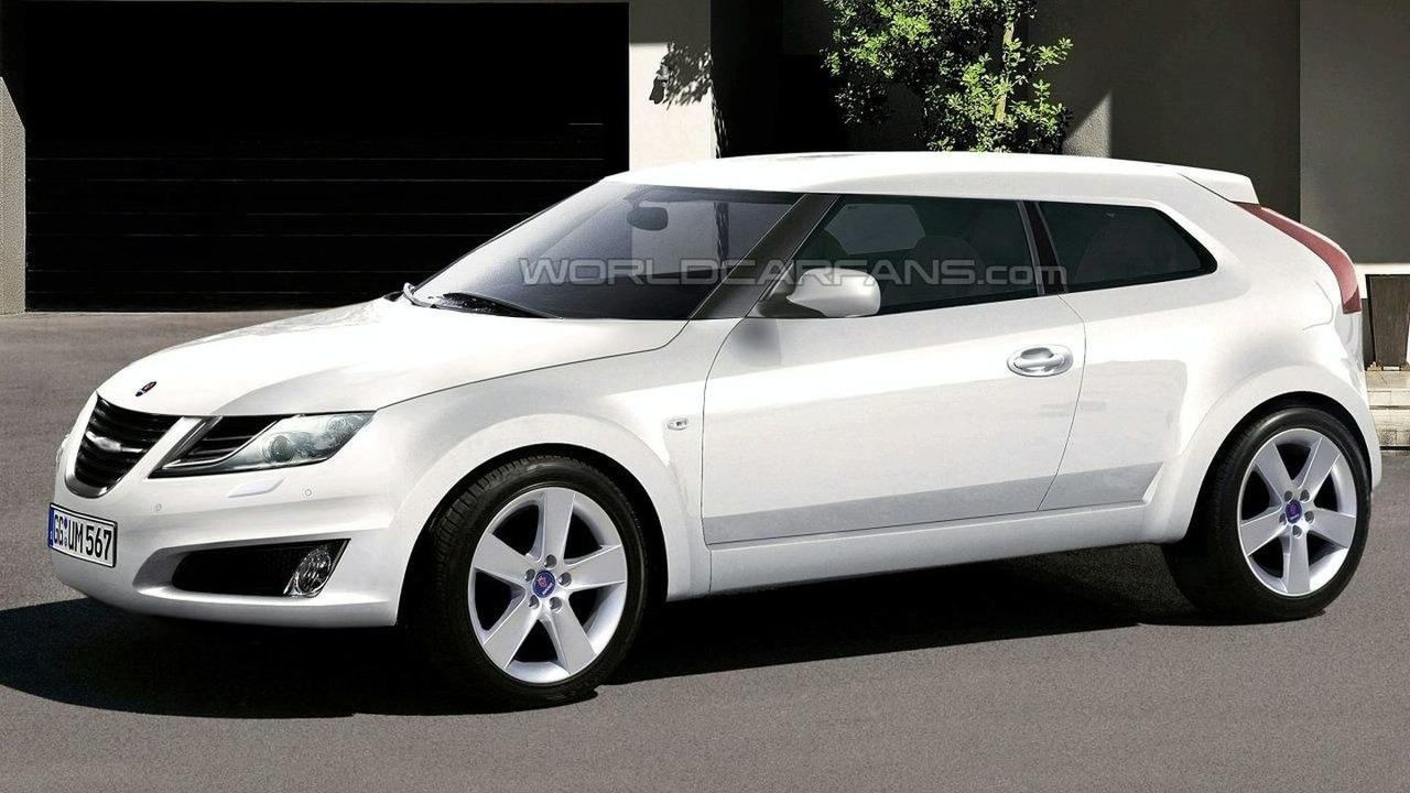 2010 Saab 9-1 - Artist rendering
