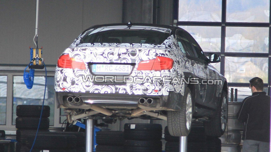 2012 BMW F10 M5 teaser released [video]
