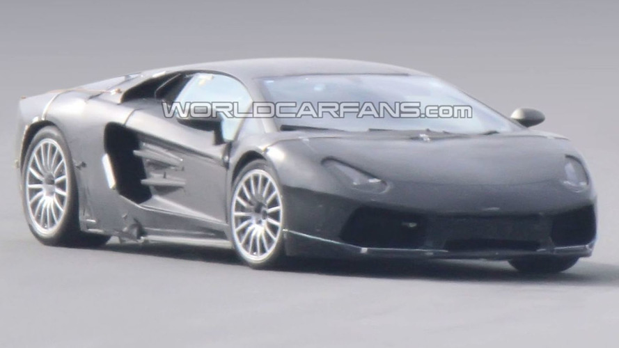 Lamborghini Jota Caught from All Angles Testing in Southern Europe