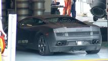 Lamborghini LP 550 on test