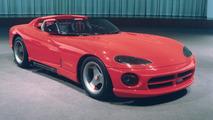 Dodge Viper RT/10 Concept (1989) - Un serpent nommé désir