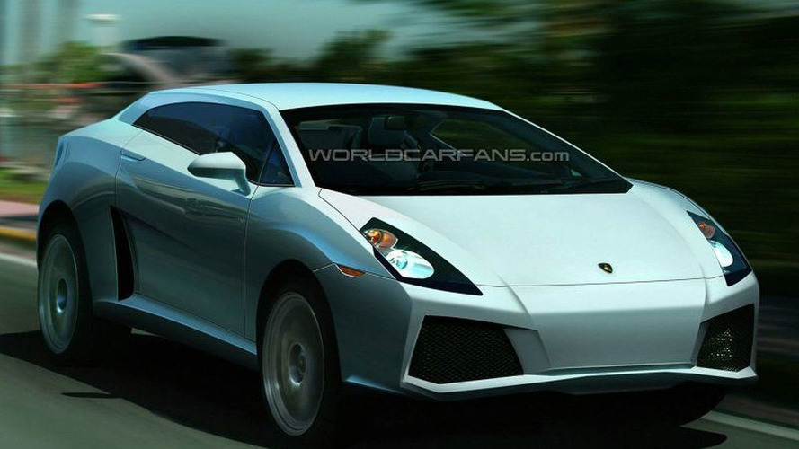 SPY PHOTOS: Lamborghini SUV