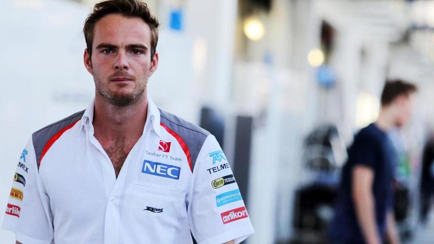 Van der Garde forcing Sauber to give him 2015 seat