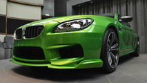 Heavily modified BMW M6 Gran Coupe in Java Green looks like no other