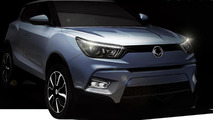 SsangYong Tivoli announced, goes on sale next year