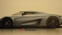 Koenigsegg Regera leaked and photographed, has 1500 HP