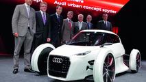 Audi Urban Concept live in Frankfurt 11.09.2011