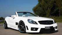 Slammed Mercedes Benz SL R230 by PP Exclusive