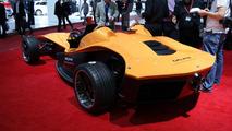 Delphi Sbarro F1for3 concept live in Geneva 07.03.2012