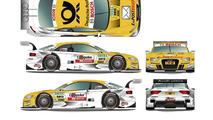 Rahel Frey (E-POSTBRIEF Audi A5 DTM) 21.3.2012