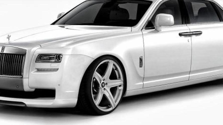 Rolls Royce Ghost by Vorsteiner previewed