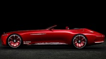 Vision Mercedes-Maybach 6 Cabriolet concept renders