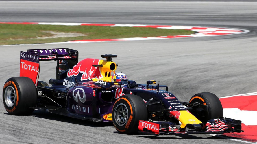 Ricciardo admits Red Bull chassis not best in 2015