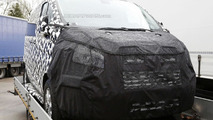Ford Tourneo Custom facelift spied inside & out