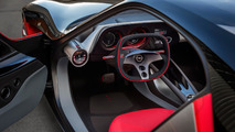 Opel GT Concept buttonless interior revealed
