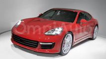 Second generation Porsche Panamera speculatively rendered