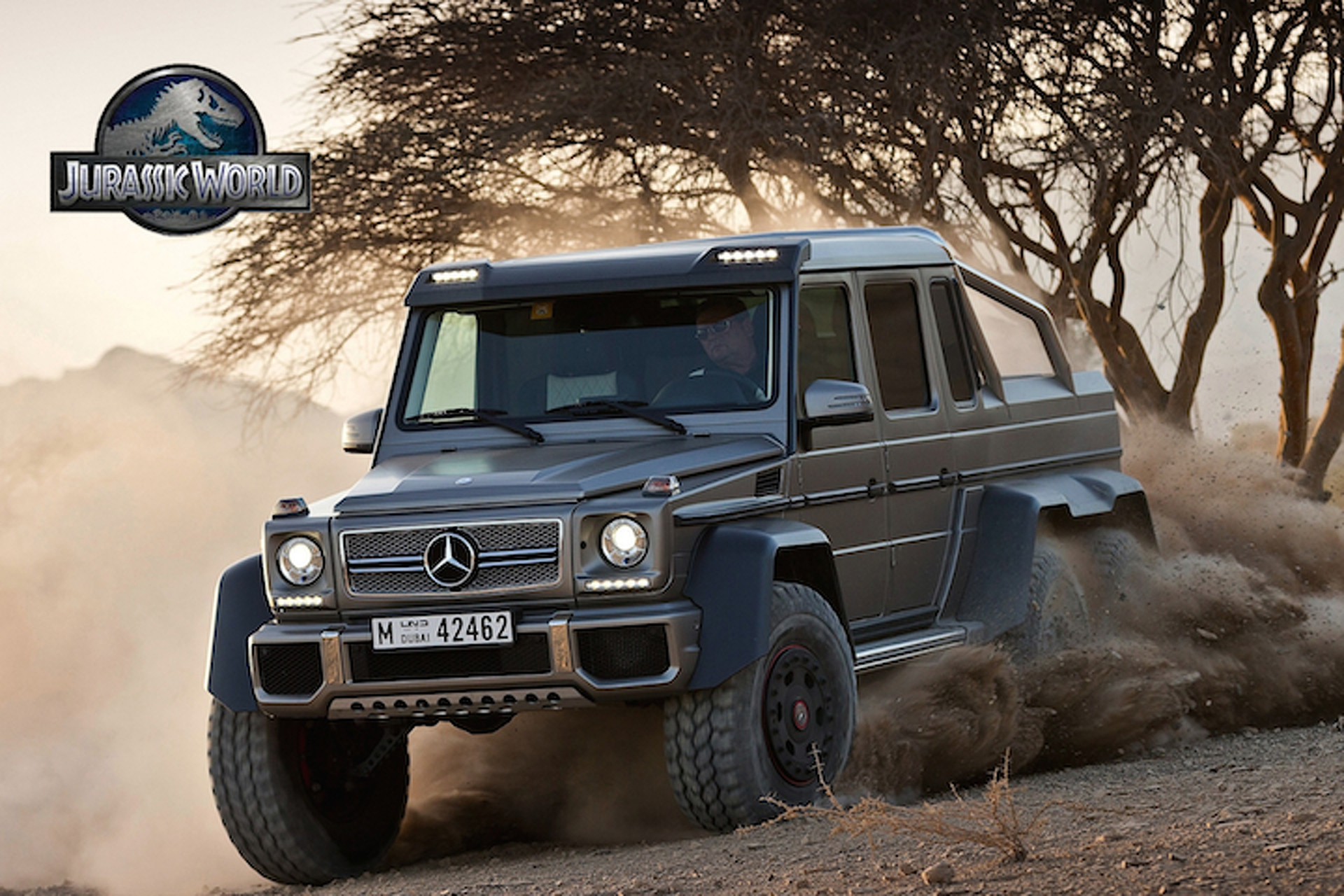 Mercedes G63 AMG 6x6 to Star in Upcoming Jurassic Park Film
