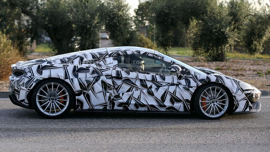 Possible McLaren 570S GT spied for the first time