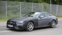 2016 Mercedes SL63 AMG facelift spy photo