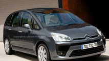 New Citroen Picasso II Spy Photos