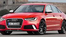 Audi RS6 Sedan digitally imagined