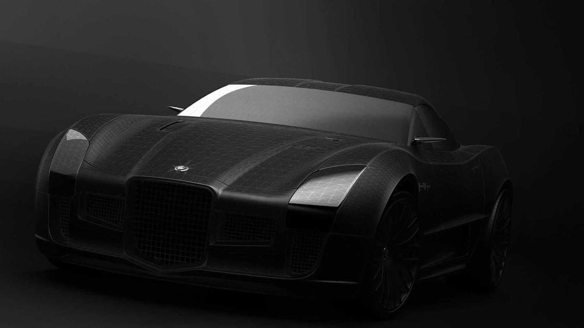 Facel Vega concept front end revealed in latest teaser image