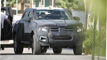 2012 Ford Ranger spied hot weather testing