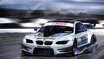 BMW M3 DTM concept spied during testing