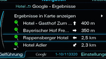 Audi A8 World First Integration of Google Earth Based Navigation Announced