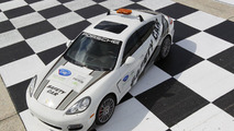 Panamera Turbo is the official safety car for ALMS