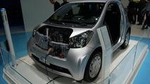 Toyota iQ EV Concept live in Geneva - 01.03.2011