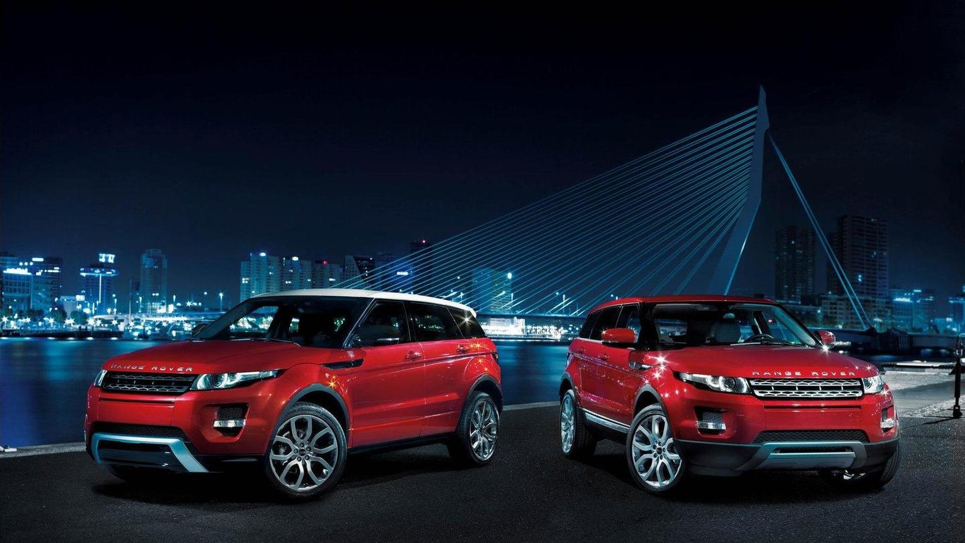 Land Rover introduces 5-door Range Rover Evoque