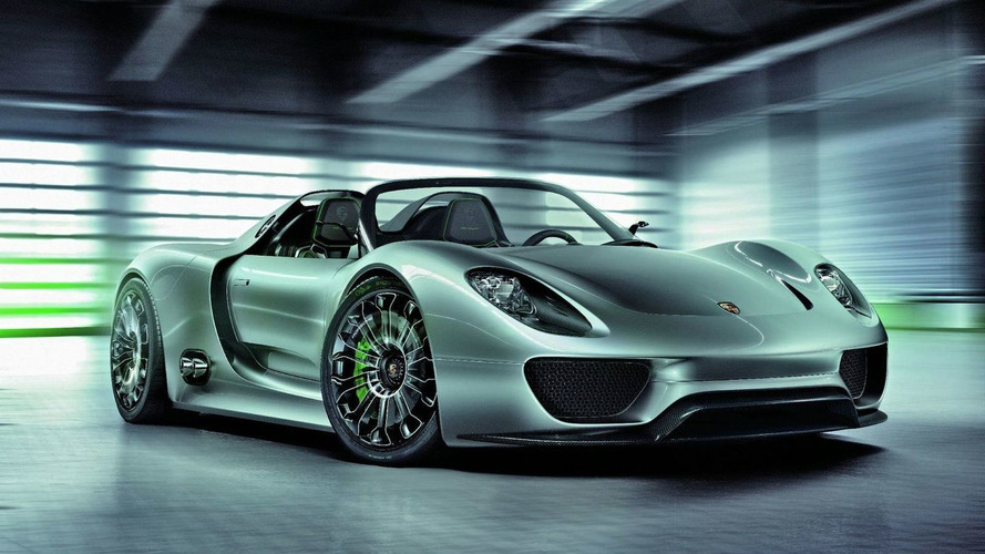 Porsche Unveils 918 Spyder Super-Sports Hybrid Concept in Geneva [Video]