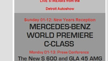 Mercedes S600 for NAIAS