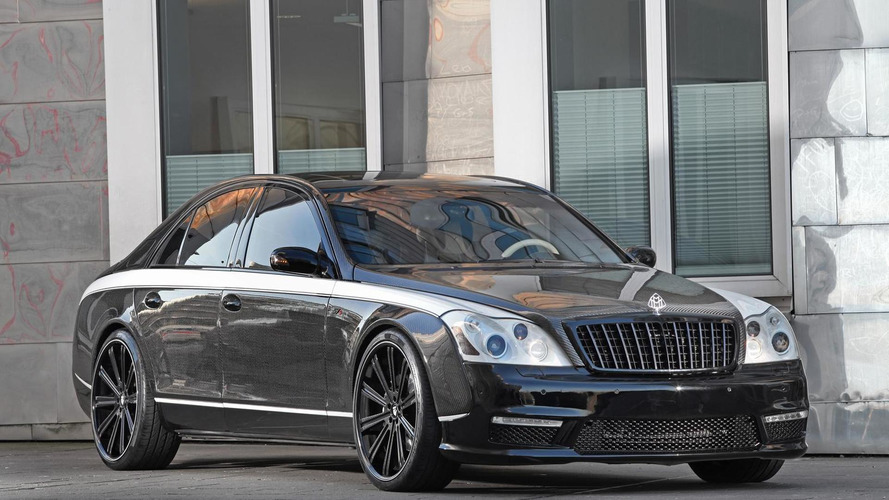 Maybach 57S receives a full upgrade kit from Knight Luxury, costs about 1M USD