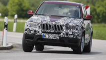 Pre-production 2011 BMW X3 photos officially released