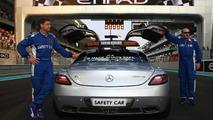 Safety car notched up milestone in Abu Dhabi