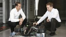 Schumacher confirms plan to stay in F1 until 2012