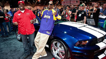 Snoop Dog's Funkmaster Flex Ford Mustang at SEMA