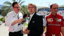 Montezemolo left track during Bahrain thriller