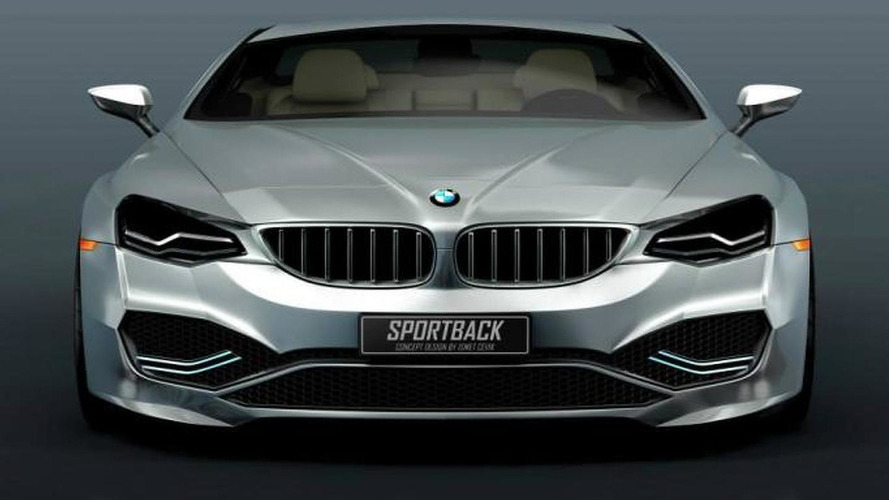 BMW 7-Series Sportback Concept renderings show a future flagship sedan