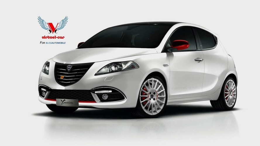 Lancia Ypsilon HF imagined, looks tastefully restrained
