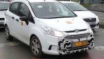 2015 Ford B-MAX facelift spied for the first time