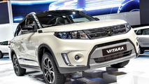 New Suzuki Vitara shows its familiar design in Paris