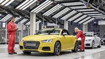 Audi TT Roadster production