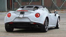 Alfa Romeo 4C Spider spy photo