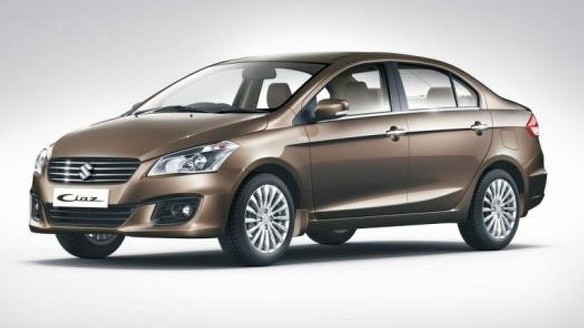 Maruti Suzuki Ciaz officially revealed in India