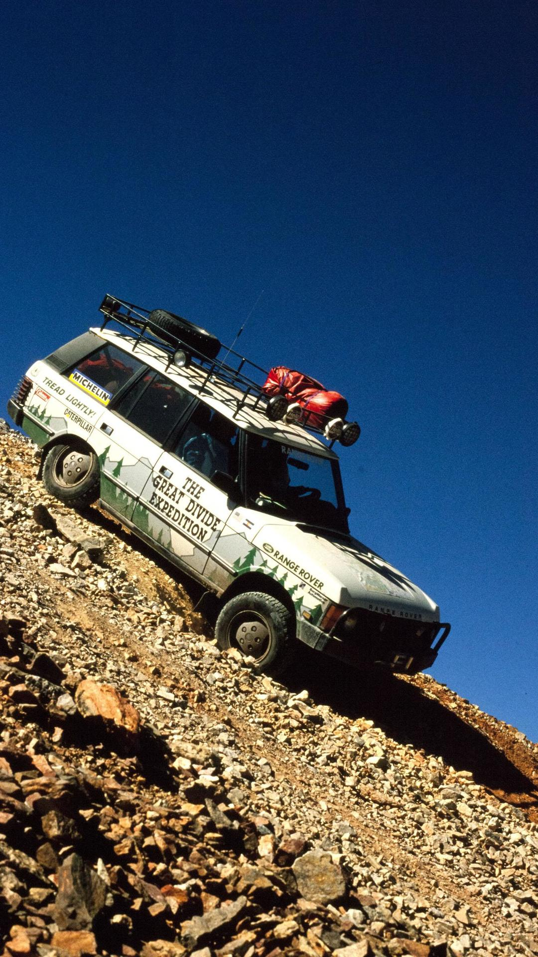 Land Rover to auction off a 1990 Range Rover Great Divide Replica