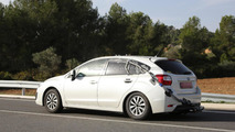 2016 Subaru Impreza mule spy photo